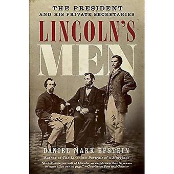 Lincolna mężczyzn: przewodniczącego i sekretarzy jego prywatne