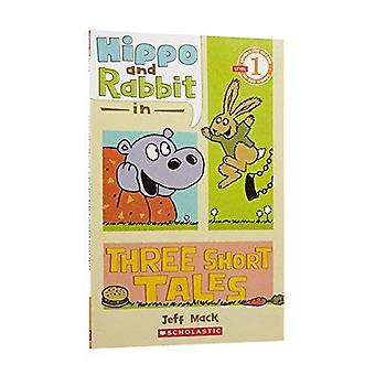 Hippo en konijn in drie korte verhalen