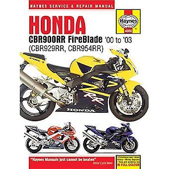 Honda CBR900RR Service and Repair Manual (Haynes Service & Repair Manual)