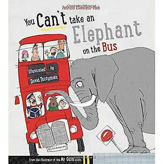 Je kunt een olifant niet nemen op de Bus