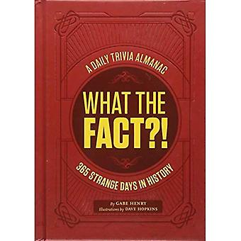 What the Fact?!: 365 Strange Days in History