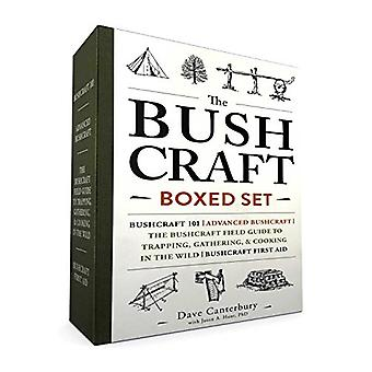 The Bushcraft Boxed Set:�Bushcraft 101; Advanced�Bushcraft; The Bushcraft Field�Guide to Trapping, Gathering,�& Cooking in the Wild;�Bushcraft
