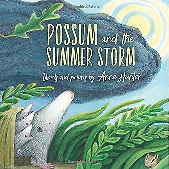 Possum et la tempête estivale
