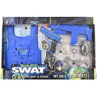 SWAT politi 2 pistolen legesæt