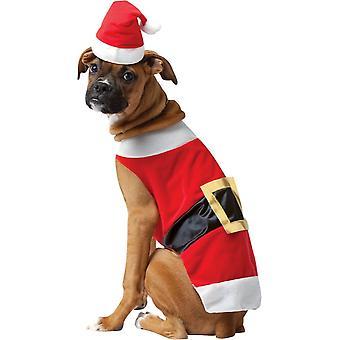 Санта собака костюм