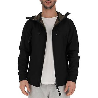 C.p. Company Black Polyester Outerwear Jacket
