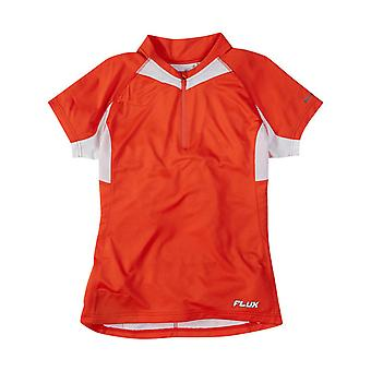 Madison Chilli Red 2015 Flux Womens Short Sleeved MTB Jersey