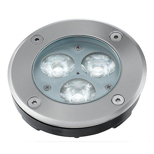 Searchlight 2505WH Led Recessed Stainless Steel Walkover Light. IP67
