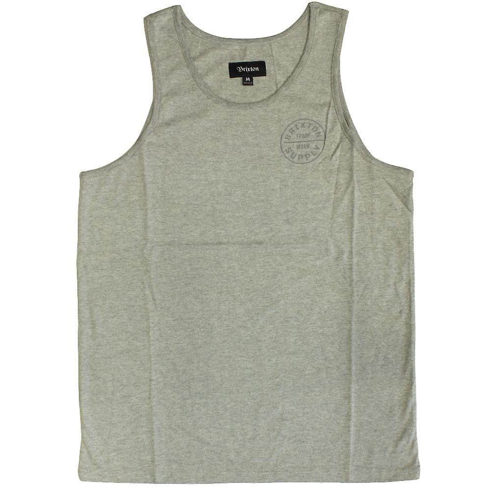Brixton Oath Tank Top Grey