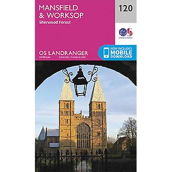 Mansfield & Worksop - Sherwood Forest (February 2016 ed) by Ordnance