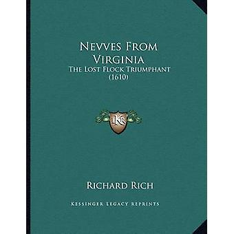 Nevves from Virginia - The Lost Flock Triumphant (1610) by Richard Ric