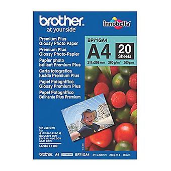 Brother BP71GA4 Premium Glossy Paper 20 Sheets