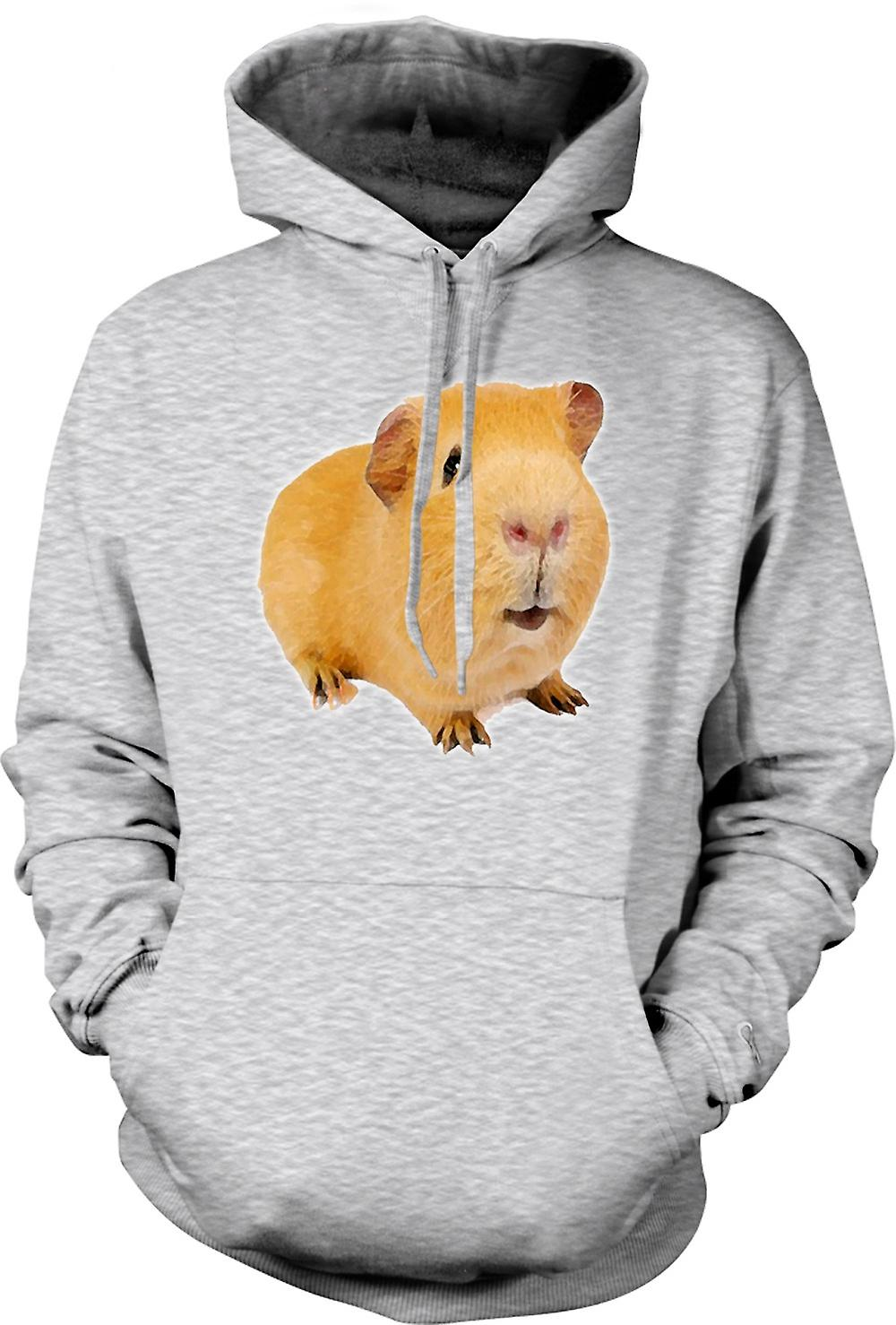 Mens Hoodie - Guinea Pig 2 - Pet Animal