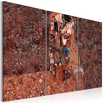Canvas Print-Klimt inspiração-a cor do amor