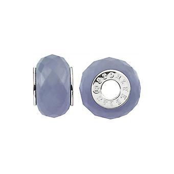 Storywheels Silver & Lavender Jade Wheel Charm S434GRA