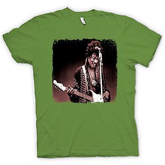 Kids T-shirt - Jimi Hendrix - Sepia - Portrait