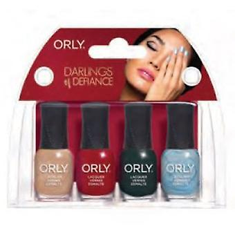 Orly Darlings Of Defiance 2017 Nail Polish Collection - Mini Kit (4x5.3ml)