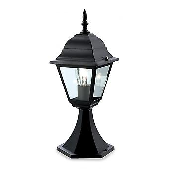 Firstlight Traditional 4 Panel Black Outdoor Lantern