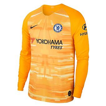 2019-2020 Chelsea Home Nike Goalkeeper Shirt (Or)