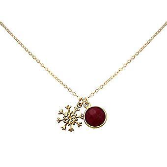 Collar Gemshine con colgante Donna vermeil - C1612Fo3