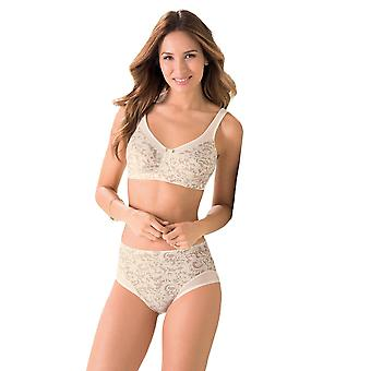 Anita 5761X-709 Women's Care Ivory Floral Non-Padded Non-Wired Compression Support Mastectomy Post Operative Bra