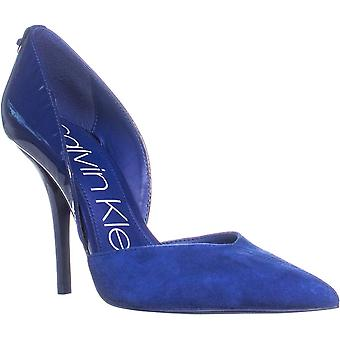 Calvin Klein Womens Marybeth Pointed Toe D-orsay Pumps
