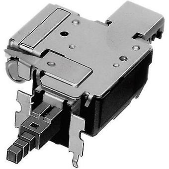 Pushbutton switch, Power switch 250 Vac 8 A 2 x On/Off ALPS SDDFD30100 latch 1 pc(s)