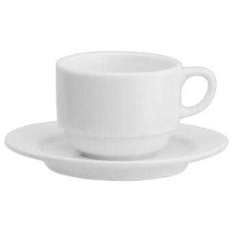 Avet Coffee Tea With 200 Ml Plate Set of 6