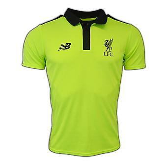 2016-2017 Liverpool Pro Polo Shirt (Toxic) - No Sponsor