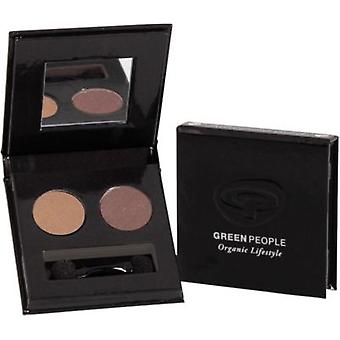 Green People Night Forest Eye Duo