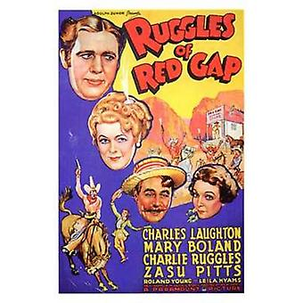 Ruggles of Red Gap Movie Poster (11 x 17)