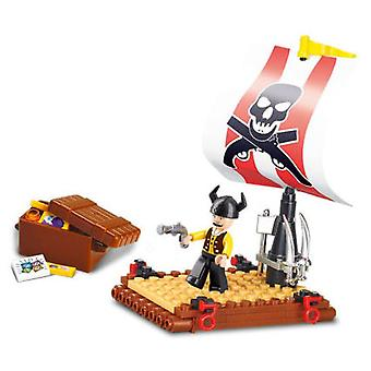 Sluban Pirate Treasure Island 64 Pieces (Toys , Constructions , Characters And Animals)
