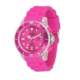 Candy Time by Madison N.Y. Uhr Unisex U4399-05-1 pink Flash