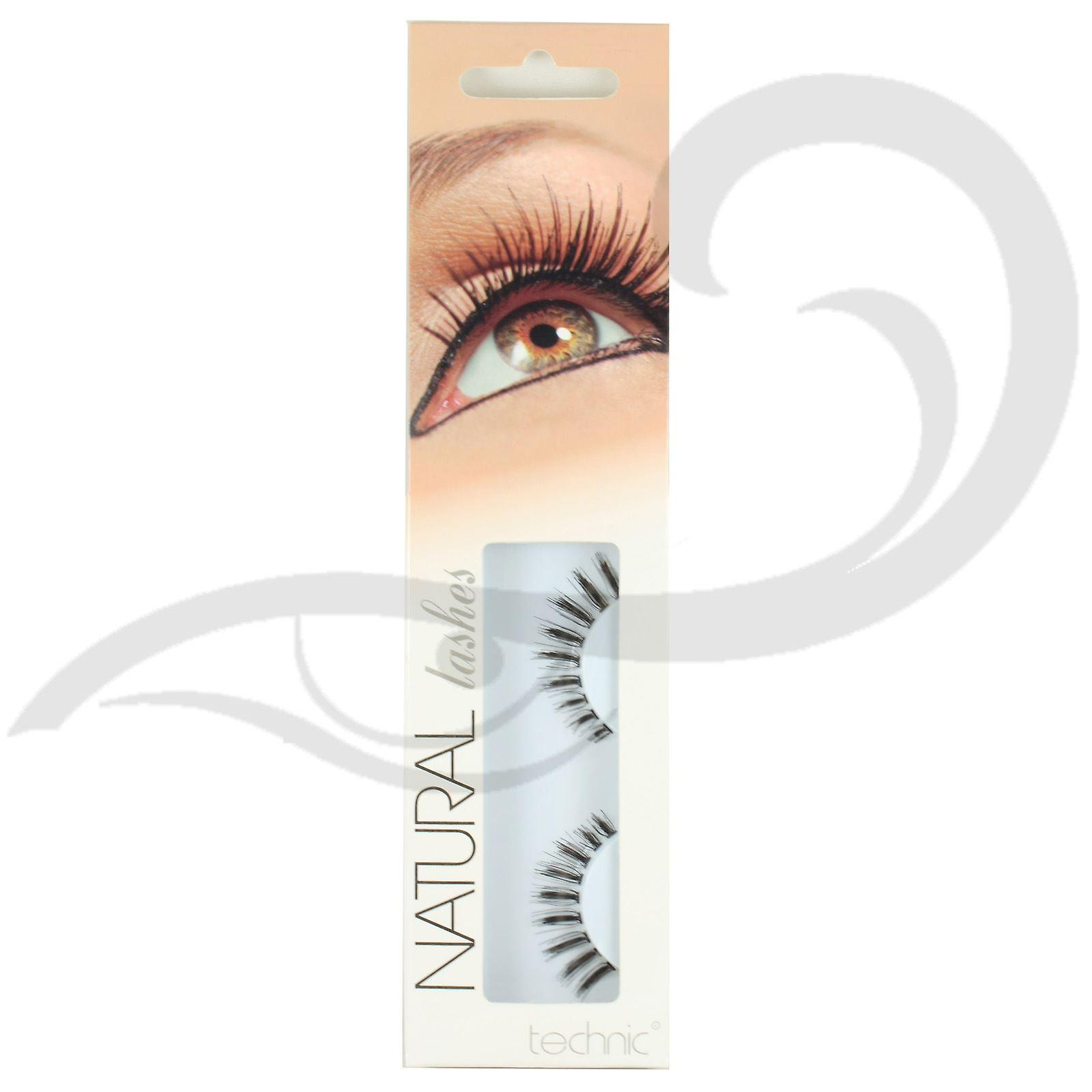 Technic Natural Strip Lashes with Adhesive A27