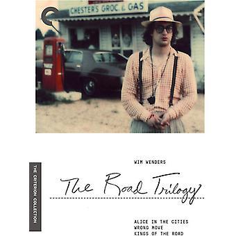 ヴィム ・ ヴェンダース: 道路三部作 【 DVD 】 アメリカ インポートします。