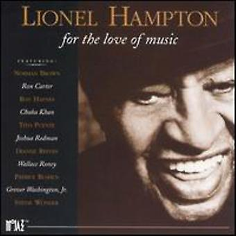 Lionel Hampton - For the Love of Music [CD] USA import