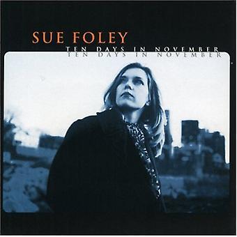 Sue Foley - tien dagen in November [CD] USA import