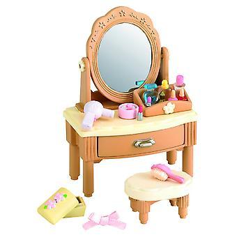 Sylvanian семей девушка туалетный столик