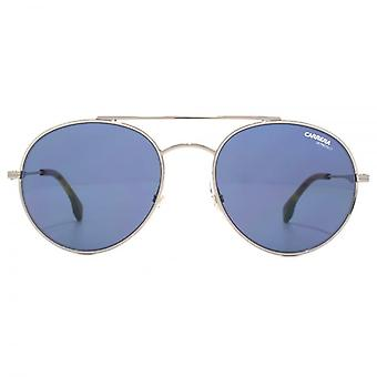 Carrera 131 Metal Round Sunglasses In Ruthenium