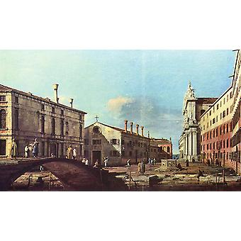 Canaletto - Town Buildings Poster Print Giclee