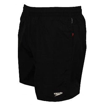 Speedo Solid Leisure Water Short, Black