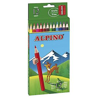 Alpino 12 Alpine Pencils Carton (Toys , School Zone , Drawing And Color)