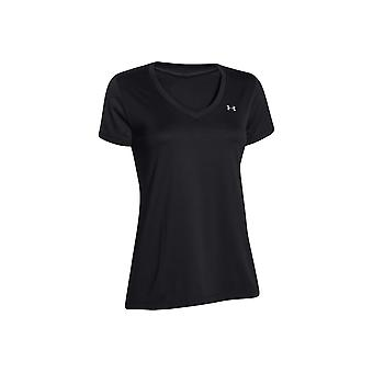 Under Armour Tech SS-Solid 1255839-002 Womens T-shirt