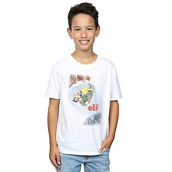 Elf Boys Distressed Poster T-Shirt