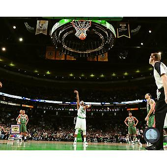 Paul Pierce scores his 20000th point on November 3 2010 at TD Garden Photo Print