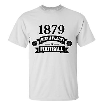Fulham Birth Of Football T-shirt (wit)