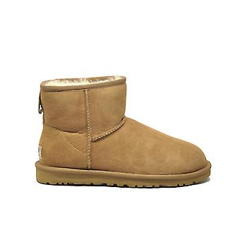 Ugg women's 1016222CHE brown leather ankle boots