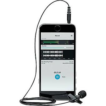 Clip Speech microphone Shure MVL Transfer type:Corded incl. cable, incl. pop filter