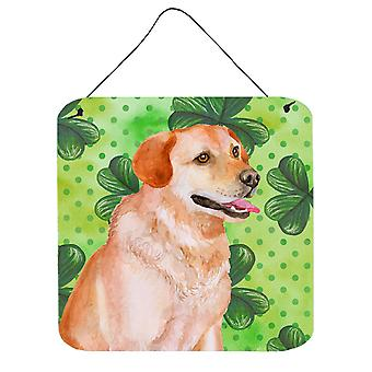 Labrador Retriever St Patrick's Wall or Door Hanging Prints