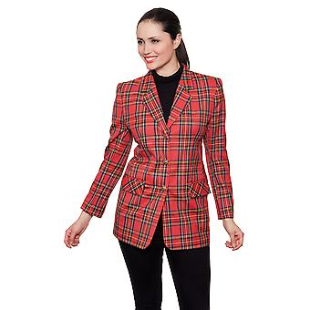 Damen Jacke Stil DB713 Royal Stuart Red Check